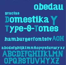 Del Rótulo a la Tipografía --- Obedau. A T, and pograph project by thejhoze01         - 27.03.2016