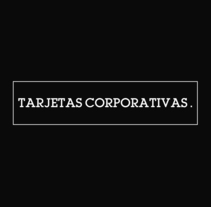 Tarjetas Corporativas. A Br, ing, Identit, and Graphic Design project by Ion Benitez         - 16.12.2013