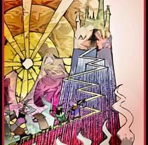 ILUSTRACIONES,  CARTELES   Y  BOCETOS DE PRODUCCIÓN. Um projeto de Publicidade, Artes plásticas e História em quadrinhos de Diego Zárraga Vallejo         - 19.03.2016