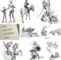 Animación a la lectura. Un proyecto de Ilustración, Diseño editorial y Educación de Manu Díez         - 25.03.2016