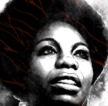 Yorokobu // Rock´n´Draw / Nina Simone. A Illustration, Music, and Audio project by Oscar Giménez - 29-03-2016