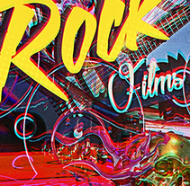 ROCK FILMS. A Design, and 3D project by comics26 - 30-03-2016
