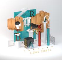 Ronda - Ciudad Soñada (Proyecto del curso: Dirección de Arte con C4D). A Illustration, and 3D project by Manuel Perujo - 30-03-2016