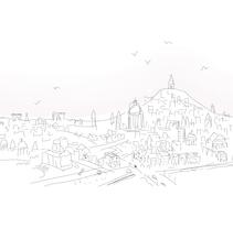 Un pueblo es. A Illustration project by Albert Valiente - Apr 01 2016 12:00 AM