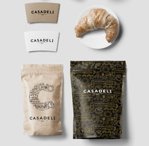 Branding para CasaDeli. A Br, ing&Identit project by Px8 Digital Agency          - 03.04.2016