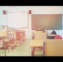 ¿Que esta pasando en las aulas?. A Advertising project by Alvaro tatay         - 04.04.2016