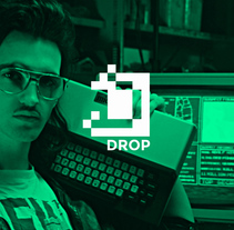 Drop > Web . A Graphic Design, and Web Design project by Sara Sánchez Fernández         - 09.12.2015