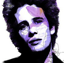 Yorokobu // Rock´n´Draw / Jeff Buckley. A Illustration, Music, and Audio project by Oscar Giménez - 10-04-2016