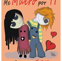 Little Lily Enamorados. Um projeto de Design e Ilustração de Eva Palacios Serrano         - 10.04.2016