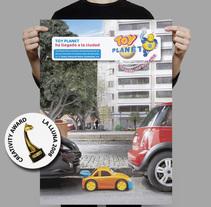 Toy Planet Press Ad. Um projeto de Direção de arte de Jose Ribelles         - 13.04.2016