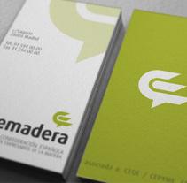 Confemadera Brand. Um projeto de Br e ing e Identidade de Jose Ribelles         - 13.04.2016