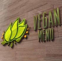 Branding Vegan menu. A Br, ing&Identit project by Virginia Damara         - 15.04.2016