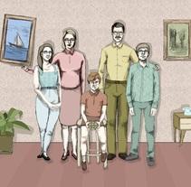 Storyborad Seguros Meridiano.. Un proyecto de Ilustración de Marina Burgos         - 11.05.2016