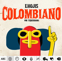 App teclado Colombiano. A Art Direction, and UI / UX project by Ernesto_Kofla  - Apr 10 2016 12:00 AM
