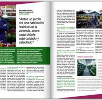 Entrevista Vida Económica, director Garden Centre. A Br, ing, Identit, Editorial Design, Writing, Cop, and writing project by Mari Carmen Jaime Marmolejo         - 21.04.2016
