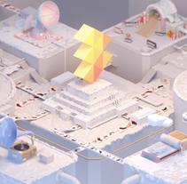 A3 Media Xmas 2014. Un proyecto de Motion Graphics, 3D, Animación, Dirección de arte y Televisión de Fabio Medrano - 21-12-2014