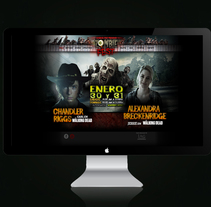 Sitio Web Zombie Fest 2016. A Web Development project by As Diseño Diseño Web Monterrey         - 02.05.2016