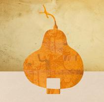 """Imagen de Marca """"La Casa de las Calabazas"""" / Los Cabos, BCS, México. A Br, ing, Identit, and Graphic Design project by Demian  Abrayas - 03-05-2016"""