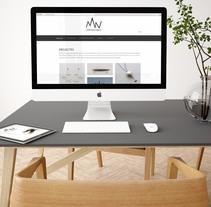 Diseño y Desarrollo web. A Graphic Design, Jewelr, Design, Web Design, and Web Development project by Amaia Bloom         - 29.02.2016