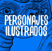 Personajes Ilustrados . A Illustration, Graphic Design, and Film project by Sara Sánchez Fernández         - 10.05.2016