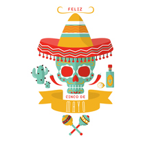 Feliz 5 de Mayo. A Graphic Design project by Laura Del Rio         - 12.05.2016