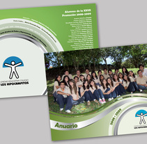 Diseño de AnuarioEscolar. A Editorial Design project by Maria Fernanda Galea - 16-06-2009