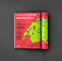 Suiza Turismo. Un proyecto de Ilustración, Publicidad y Diseño gráfico de aplauso studio  - 12-05-2016