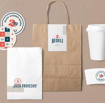 2 Be Deli. Un proyecto de Diseño, Br, ing e Identidad y Diseño gráfico de Treceveinte  - Martes, 24 de mayo de 2016 00:00:00 +0200