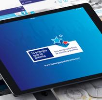 App La Energia que te Premia. A Graphic Design, Interactive Design, and UI / UX project by Niko Tienza - Jan 10 2016 12:00 AM
