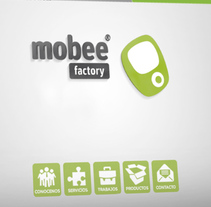 Web Mobee Factory. A UI / UX, Graphic Design, Interactive Design, and Web Design project by Niko Tienza - 29-07-2014