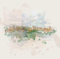 Lugares. Un proyecto de Ilustración de Juan Palacios         - 27.05.2016