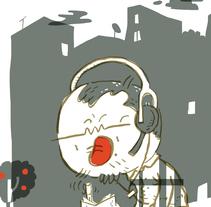 """Webcómic """"Contado Tiene Menos Gracia"""". Un proyecto de Comic de Ángel Palomo - 06-03-2010"""