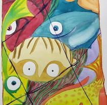 Pinocho. Un proyecto de Ilustración de Nerea Guinea Eguiguren         - 29.05.2016