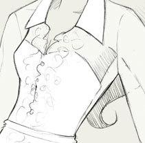 Bocetos de novia / PRONOVIAS. Un proyecto de Ilustración de Silvia Sanmiquel         - 05.11.2013