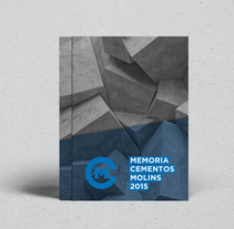 Cementos Molins - Annual Report. A Design, Art Direction, Editorial Design, and Graphic Design project by Twotypes  - 09-06-2016