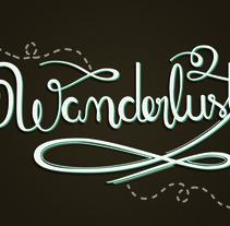Los secretos dorados del lettering - Wanderlust. Um projeto de Design, Design gráfico, Tipografia e Caligrafia de Lorena Penknives         - 12.06.2016