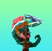 Camaleón . Un proyecto de Diseño, Ilustración y Diseño gráfico de Adán Careta         - 13.06.2016