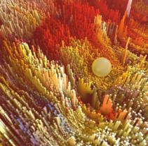 Pixelization. A 3D project by Alejandro Abad         - 28.06.2016