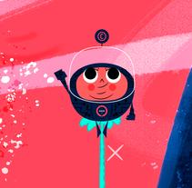 JHONNY NÚÑEZ - STUDIO. Un proyecto de Br, ing e Identidad, Diseño de personajes e Ilustración de Jhonny  Núñez - Sábado, 02 de julio de 2016 00:00:00 +0200