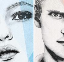 """Serie """"Collage"""". Un proyecto de Ilustración, Dirección de arte y Bellas Artes de Lucía Paniagua - 01-07-2016"""