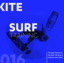Kitesurf Training App. A Graphic Design, and Web Design project by Andrea Ferrandis Salido         - 06.07.2016