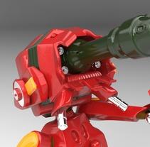 Robot Kanchi. A 3D project by Aurora  Callejon Navarro - 08-07-2016