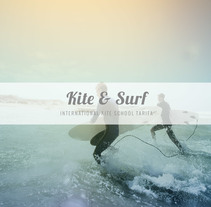 Kite & Surf Tarifa. A Design, Editorial Design, and Graphic Design project by Anais García - 09-07-2016