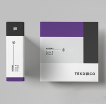 TEKDECO. A Br, ing, Identit, Graphic Design, Industrial Design, and Packaging project by Treceveinte  - 18-07-2016