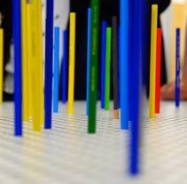 Pencil Case- Instalación interactiva para las Jornadas de Arte y Diseño Nau3. A Design&Information Architecture project by Elisa Bascón         - 14.04.2015