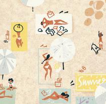 REVISTA GENTLEMAN: Especial verano. Un proyecto de Ilustración, Diseño editorial y Marketing de Del Hambre  - 20-07-2016