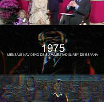 1975. Mensaje navideño de su majestad el Rey. Um projeto de Cinema, Vídeo e TV, Cinema e TV de antonio antón jarque         - 29.07.2015