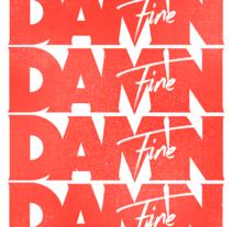 Damn Fine - Identidad y logo. A Br, ing&Identit project by Dadot         - 20.03.2016