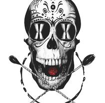 Barman Tattoo. Un proyecto de Ilustración de Joaquín  Rodríguez - 30-07-2016