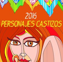 Personajes Castizos 2016. A Street Art project by PACHUCHO PINTOR         - 01.08.2016